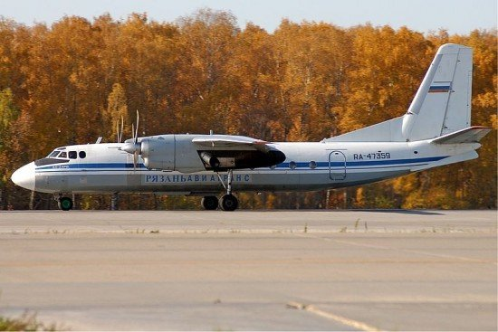 Antonov 24 aircraft have to be equipped with ACAS and GPWS (photo: Pavel Adzhigildaev)