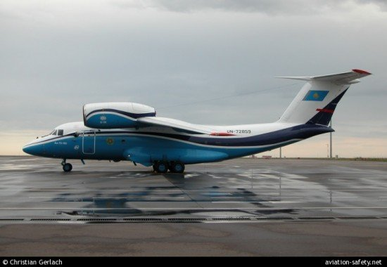 The Kazakhstan Border Guards An-72 (photo © Christian Gerlach)