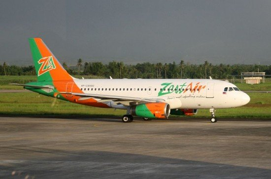 File photo of a ZestAir Airbus A320 (photo: Peter Villamer Sanchez)