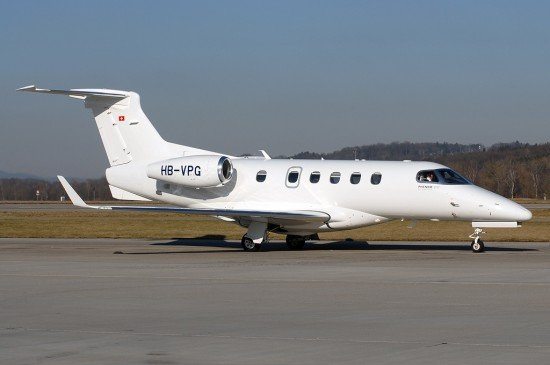 File photo of a Phenom 300 (photo: Rolf Wallner)