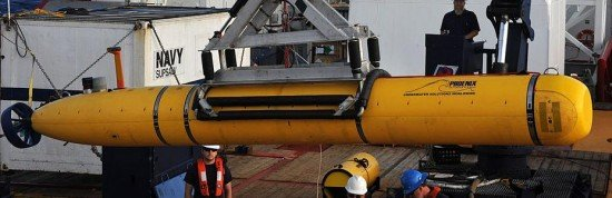U.S. Navy's Bluefin-21 underwater vehicle (photo: U.S. Navy)